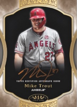 2020 Topps Tier One Baseball Cards - Checklist Added 3