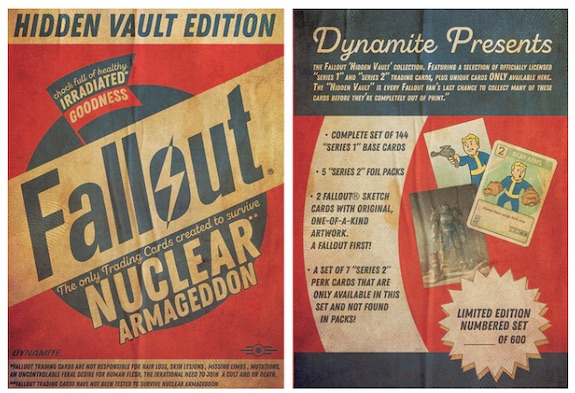 Dynamite Fallout Trading Cards Series 1 and Series 2 5