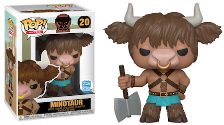 Funko Pop Myths Vinyl Figures 8