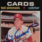 Top 10 Ted Simmons Baseball Cards