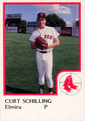 Top 10 Curt Schilling Baseball Cards 10