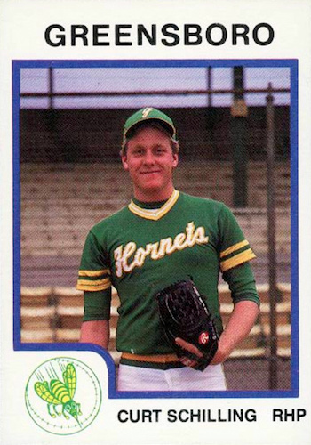 Top 10 Curt Schilling Baseball Cards 5