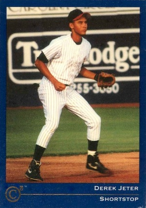Top Derek Jeter Minor League Cards to Collect 12