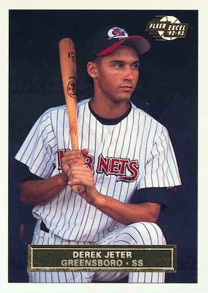 Top Derek Jeter Minor League Cards to Collect 13
