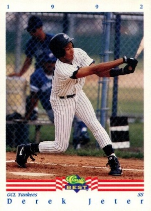 Top Derek Jeter Minor League Cards to Collect 1