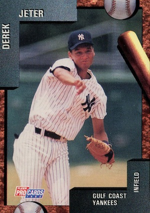 Top Derek Jeter Minor League Cards to Collect 8