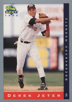 Top Derek Jeter Minor League Cards to Collect 16