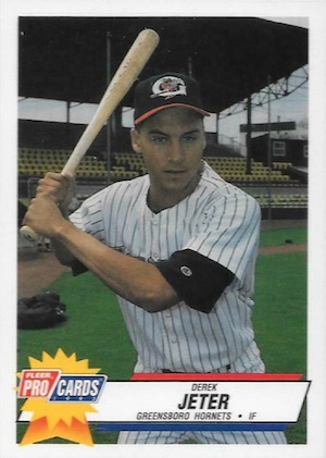 1992-93 Fleer Excel Minors Baseball #210 Derek Jeter Pre-Rookie Card