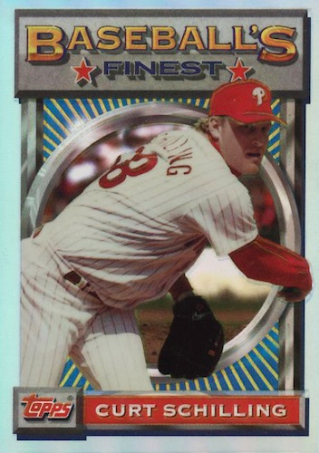 Top 10 Curt Schilling Baseball Cards 8