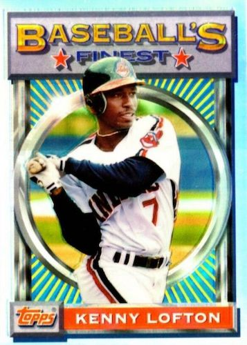Top 10 Kenny Lofton Baseball Cards 7