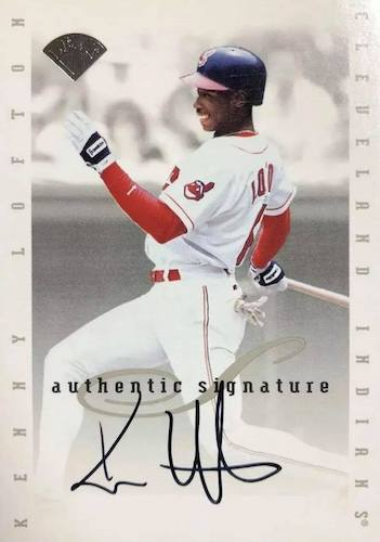 Top 10 Kenny Lofton Baseball Cards 9