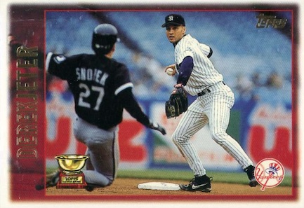 Derek Jeter Topps Cards Through the Years 5