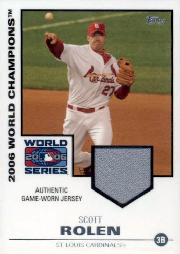 Top 10 Scott Rolen Baseball Cards 7