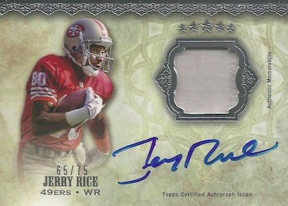 Rice, Rice, Baby! Top 10 Jerry Rice Football Cards 9