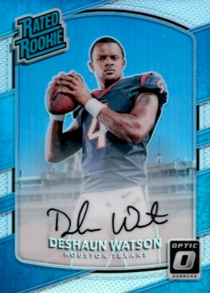 Top Deshaun Watson Rookie Cards to Collect 2