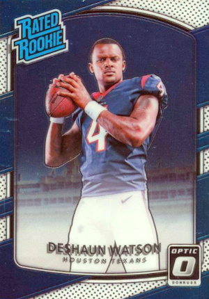 Top Deshaun Watson Rookie Cards to Collect 1