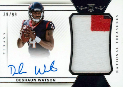 Top Deshaun Watson Rookie Cards to Collect 10