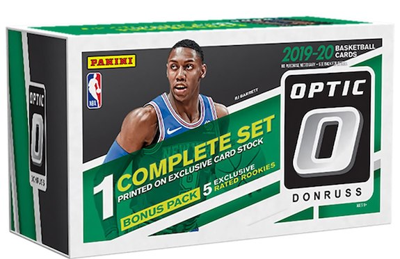 2019-20 Donruss Optic Basketball Factory Set Cards 4