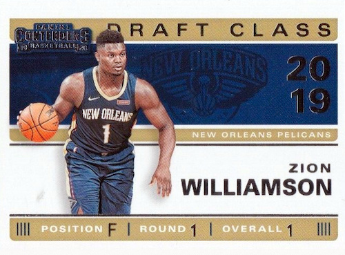 2019-20 Panini Contenders Basketball Cards 36