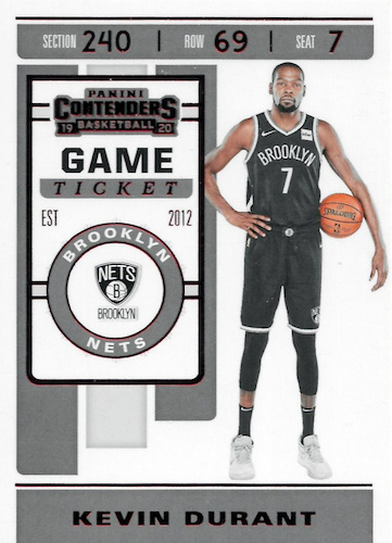 2019-20 Panini Contenders Basketball Cards 32