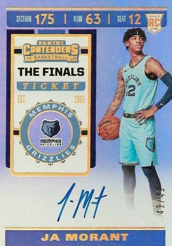 2019-20 Panini Contenders Basketball Cards 33