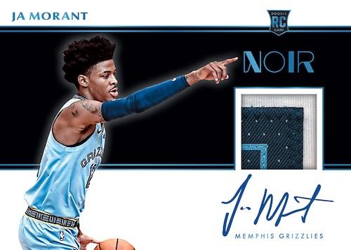 2019-20 Panini Noir Basketball Cards 6