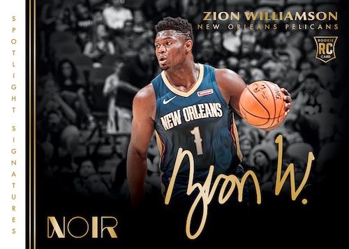 2019-20 Panini Noir Basketball Cards 7