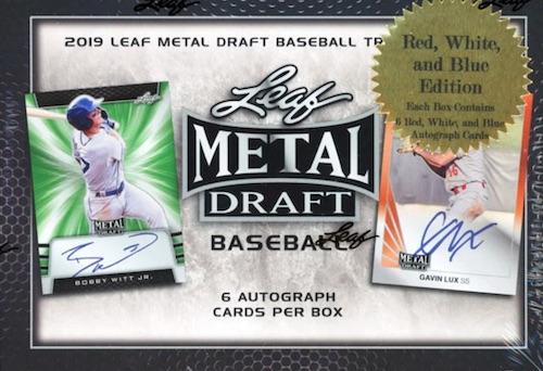2019 Leaf Metal Draft Baseball Cards - Checklist Added 4