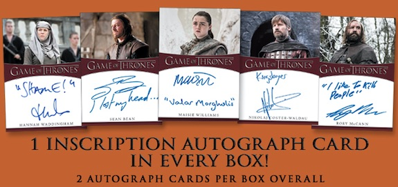 2020 Rittenhouse Game of Thrones Season 8 Trading Cards 4