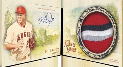 2020 Topps Allen & Ginter Baseball Cards 12