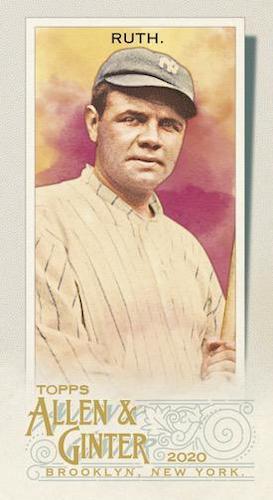 2020 Topps Allen & Ginter Baseball Cards 4