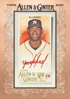 2020 Topps Allen & Ginter Baseball Cards 10