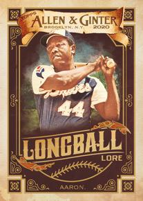 2020 Topps Allen & Ginter Baseball Cards 6