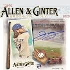 2020 Allen and Ginter  Baseball