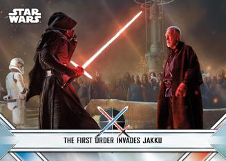 2020 Topps Star Wars Chrome Perspectives Resistance vs. The First Order Trading Cards - Checklist Added 5