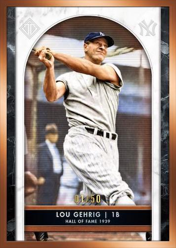2020 Topps Transcendent Collection Hall of Fame Edition Baseball Cards 1
