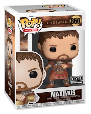 Funko Pop Gladiator Vinyl Figures 4