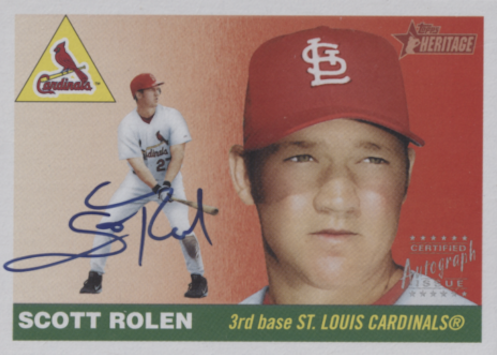 Top 10 Scott Rolen Baseball Cards 6
