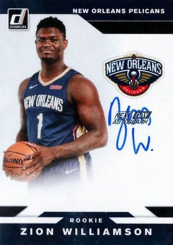 Top Zion Williamson Rookie Cards to Collect 21