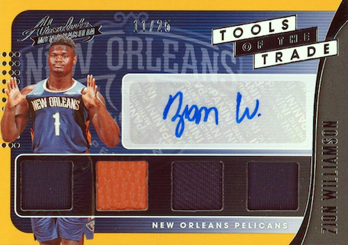 Top Zion Williamson Rookie Cards to Collect 26