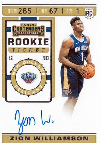 Top Zion Williamson Rookie Cards to Collect 30