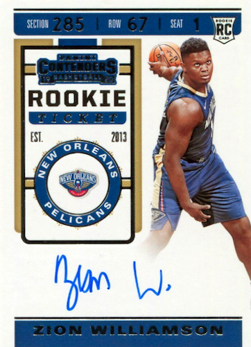 Top Zion Williamson Rookie Cards to Collect 29
