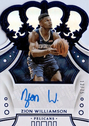 Top Zion Williamson Rookie Cards to Collect 33