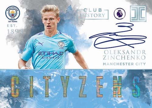 2019-20 Panini Impeccable Premier League Soccer Cards 9