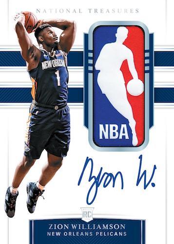 2019-20 Panini National Treasures Basketball Cards 3