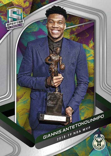 2019-20 Panini Spectra Basketball Cards 2