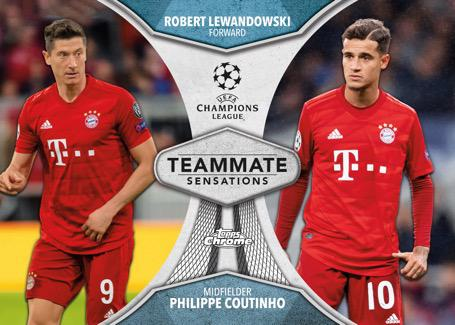 2019-20 Topps Chrome UEFA Champions League Soccer Cards 5
