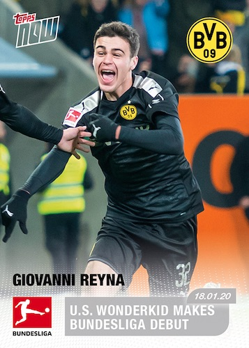 2019-20 Topps Now Bundesliga Soccer Cards 1