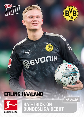 2019-20 Topps Now Bundesliga Soccer Cards 2