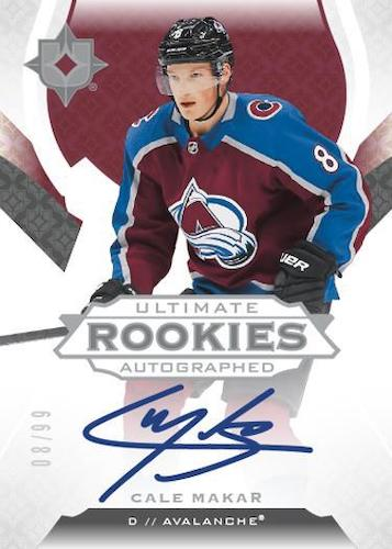 2019-20 Ultimate Collection Hockey Cards 1